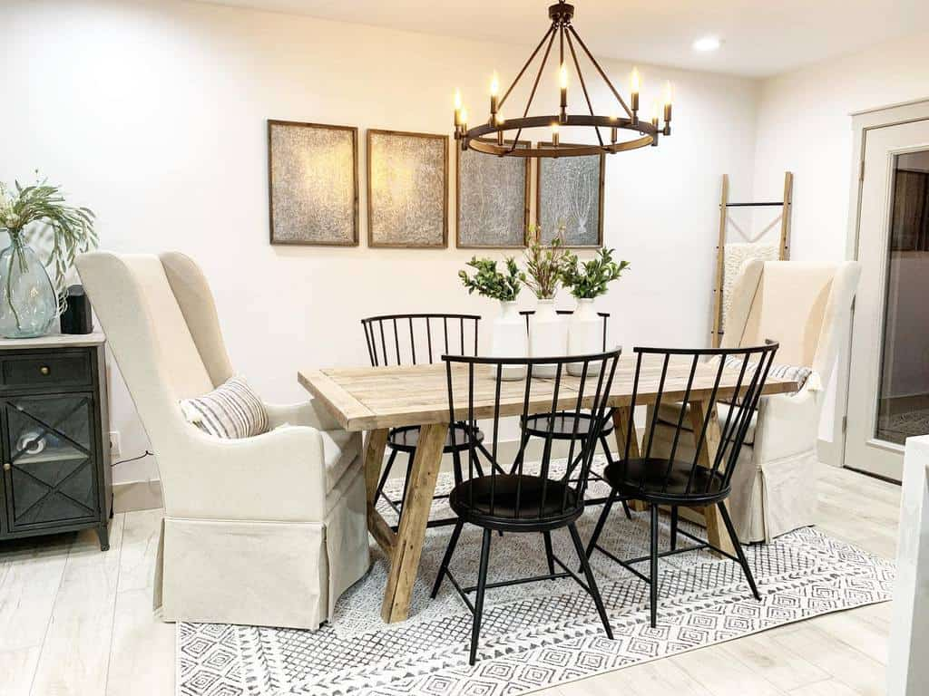 artwork ideas dining room wall decor ideas krafted_renovations