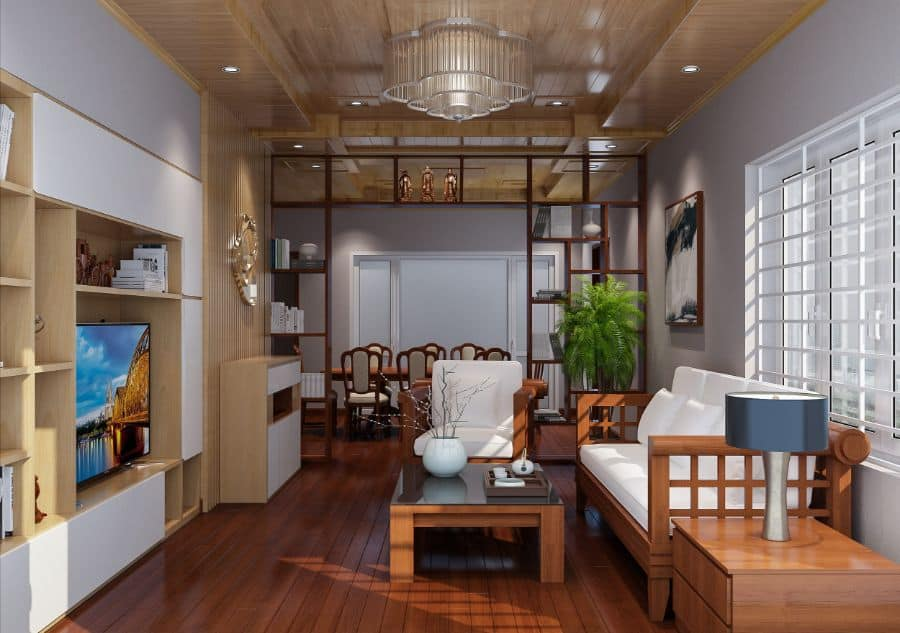 Asian Living Room Decorating Ideas 4