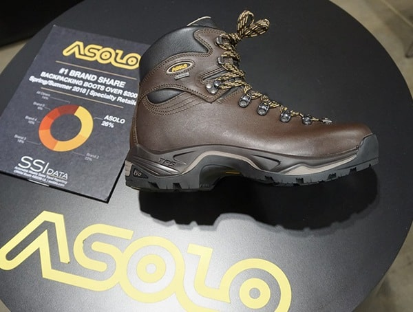 Asolo Mens Brown Leather Winter Boots