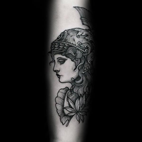 Athena Male Tattoos