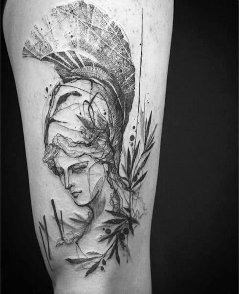Athena Mens Tattoos