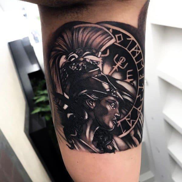 Athena Tattoo Ideas For Men