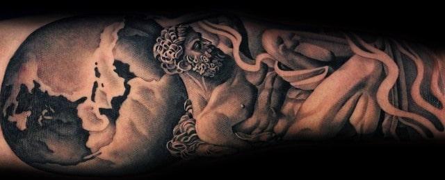 Atlas Tattoo Designs For Men