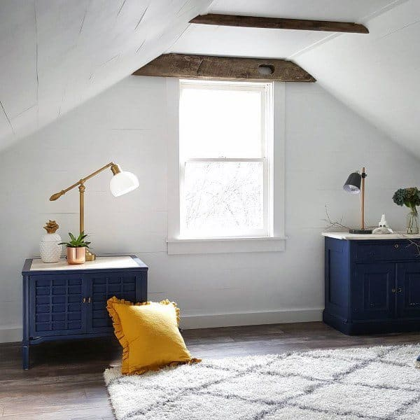 Attic Bedroom Decorating Design Inspiration