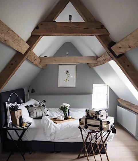 Attic Bedroom Design
