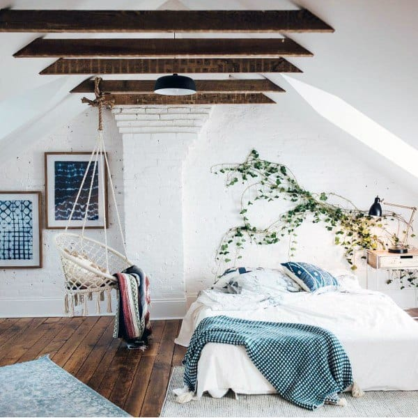 loft or attic cozy bedroom ideas