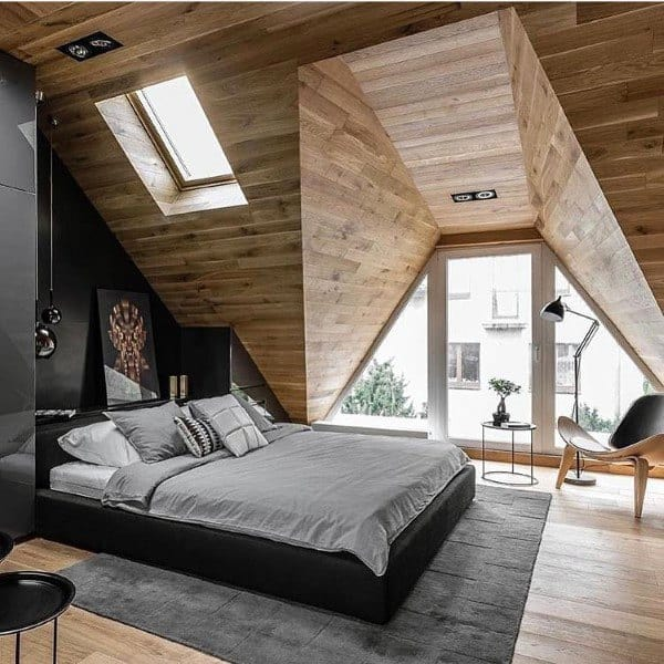Attic Converted To Bedroom