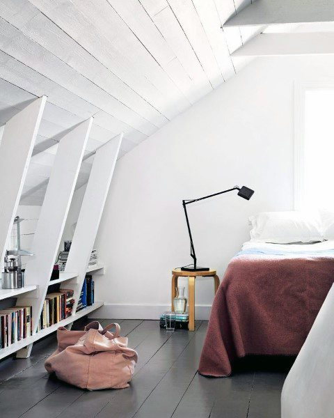 Attic Turned Into Bedroom