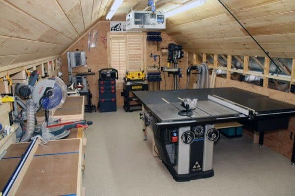 Attic Workshop Ideas