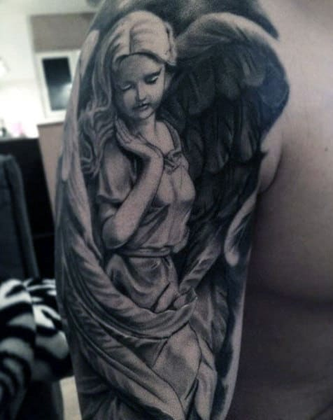 Top 103 Guardian Angel Tattoo Ideas [2020 Inspiration Guide]