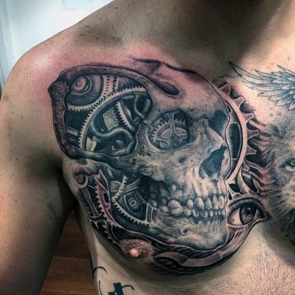 Auto Mechanic Tattoos For Men