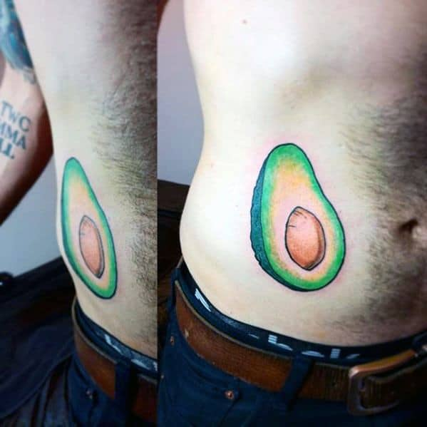 Avocado Male Tattoos
