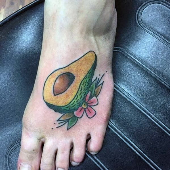 Avocado Tattoos Guys
