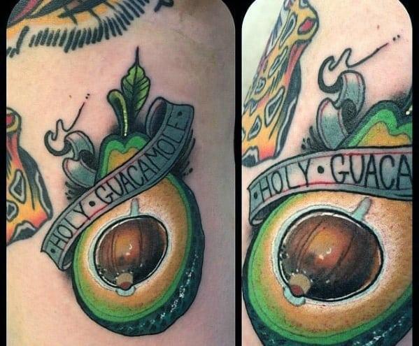 Avocado Tattoos Men