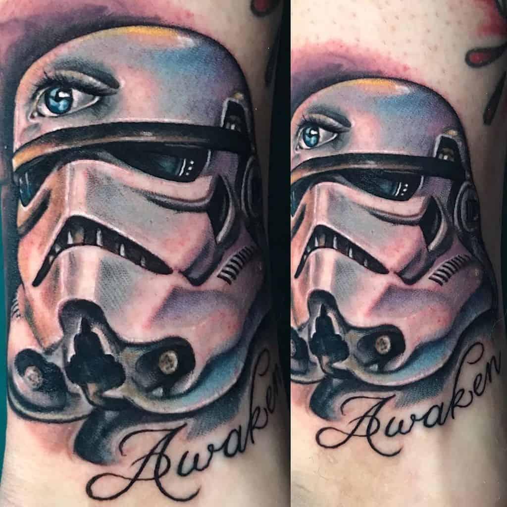 Awaken Storm Trooper Tattoo