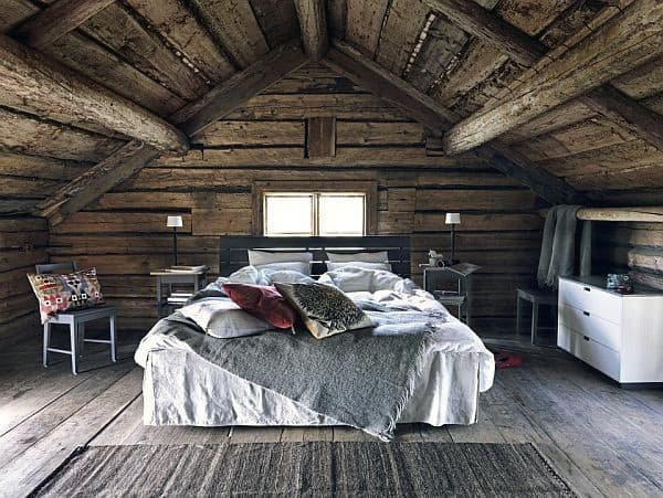 rustic floor bedroom flooring ideas