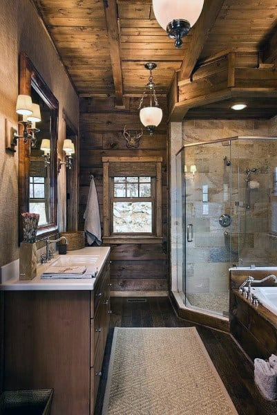 Top 50 Best Bathroom Ceiling Ideas - Finishing Designs