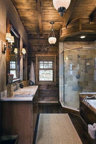 Awesome Bathroom Ceiling Design Ideas