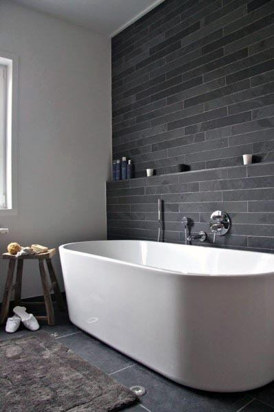 Awesome Bathroom Ideas Grey Color