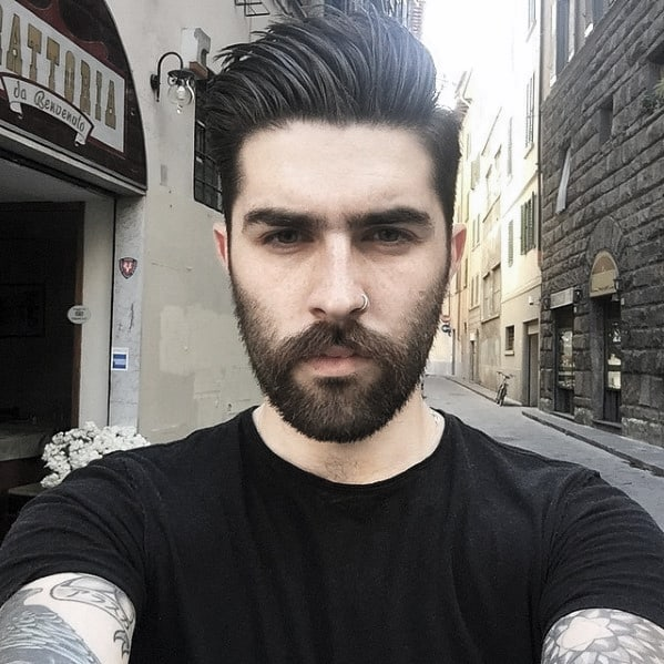 Awesome Beard Style Idea On Man