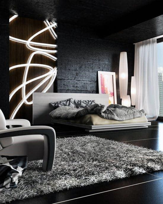 masculine romantic bedroom ideas