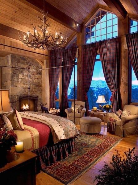 rustic romantic bedroom ideas