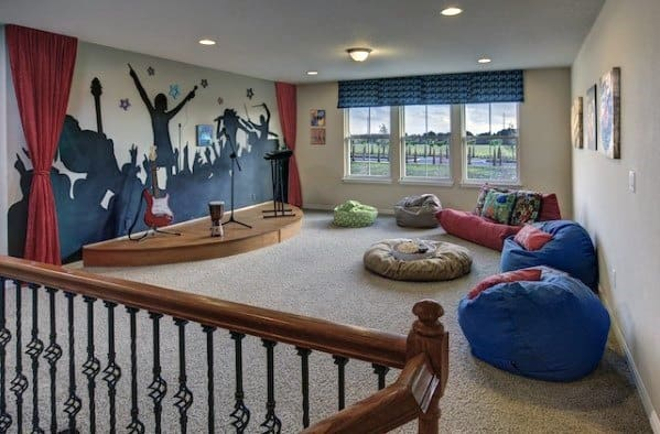 Awesome Bonus Room Ideas Band Stage