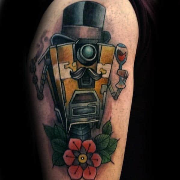 50 Borderlands Tattoo Designs For Men Video Game Ink Ideas