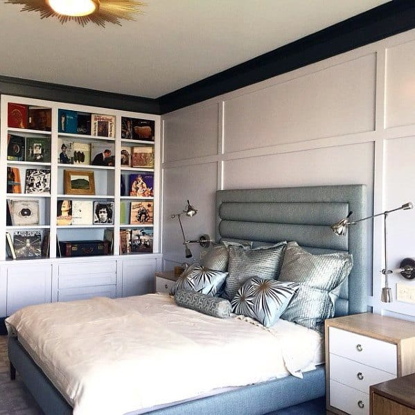 shelves bedroom storage ideas