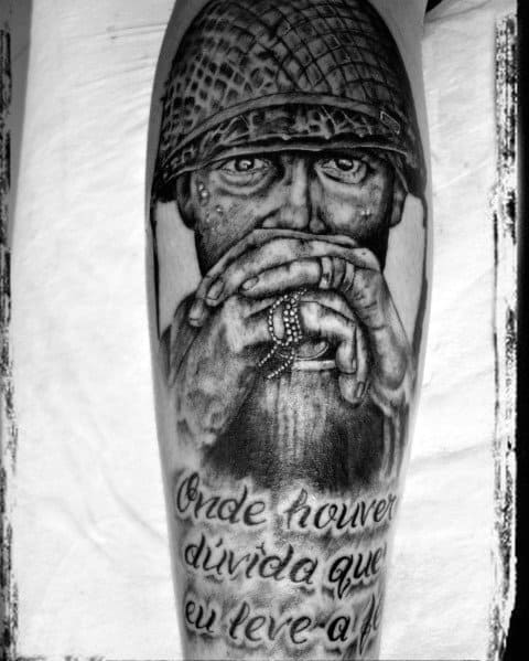 Awesome Call Of Duty Tattoos For Men