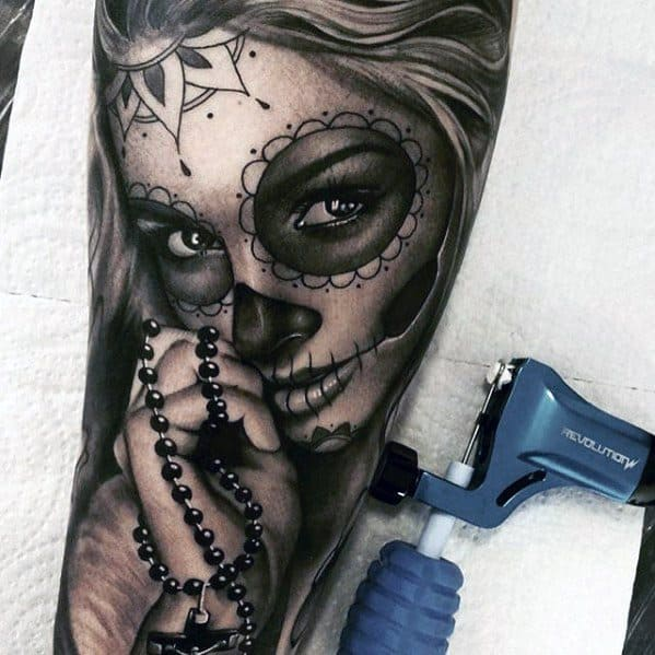 Awesome Catrina Tattoos For Men
