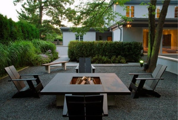 Awesome Contemporary Gravel Patio Ideas