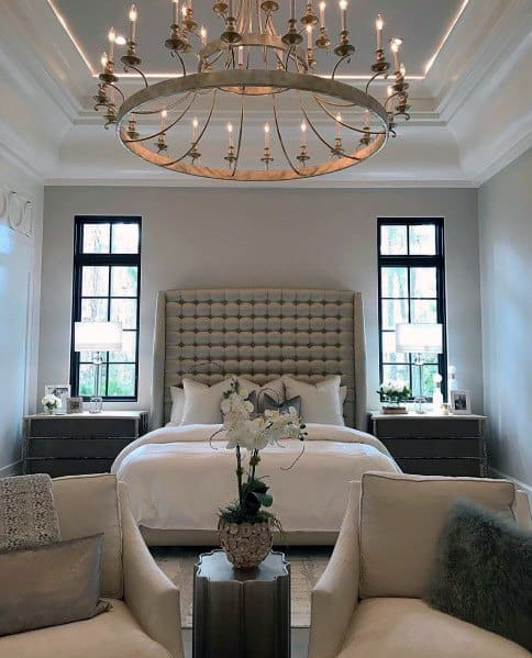 Awesome Crown Molding Lighting Ideas For Master Bedroom