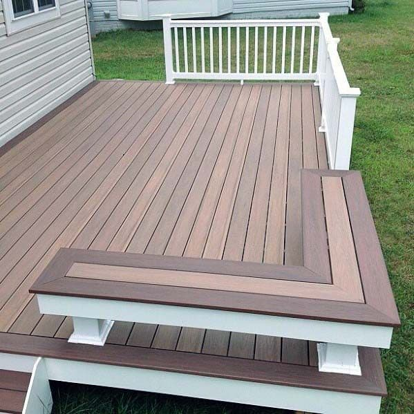 Awesome Deck Bench Ideas Corner