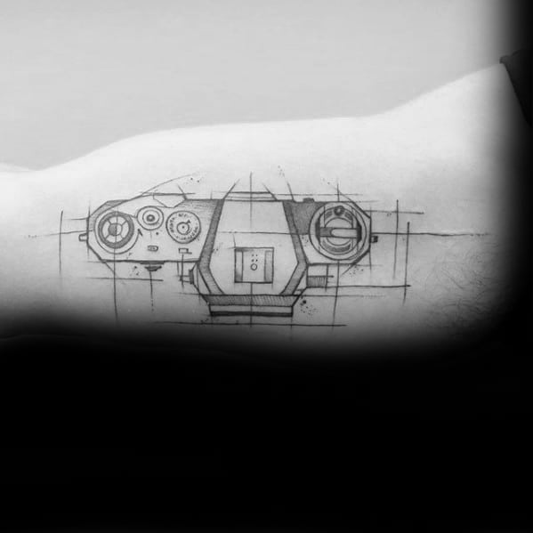 Awesome Engineering Tattoos For Men
