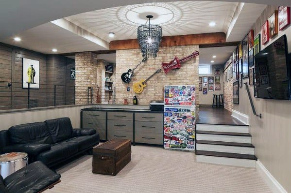 Awesome Finished Basement Ideas For Teens