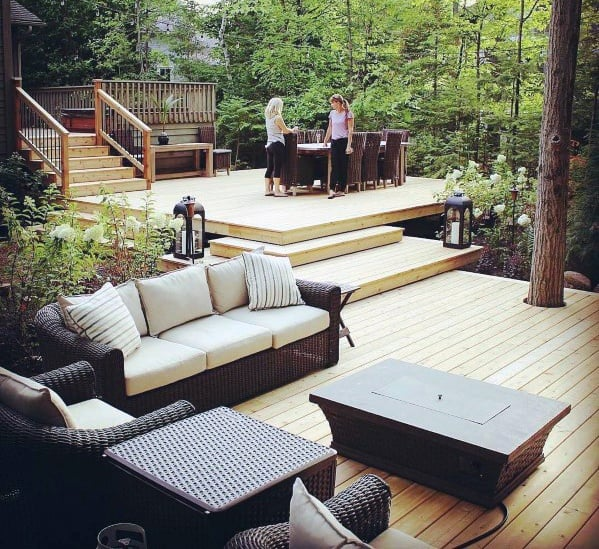 Awesome Floating Deck Ideas Backyard