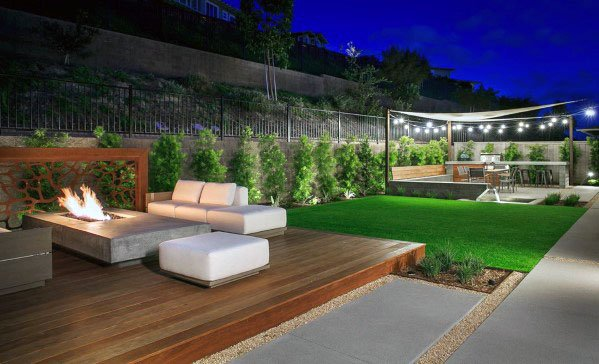 Awesome Floating Modern Deck Ideas