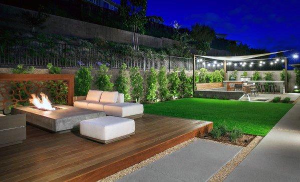 Contemporary Backyard Designs