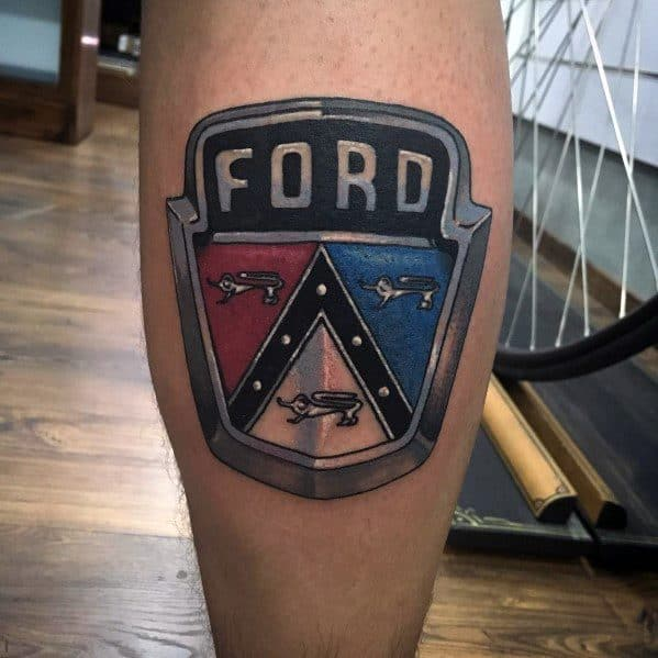 Awesome Ford Tattoos For Men