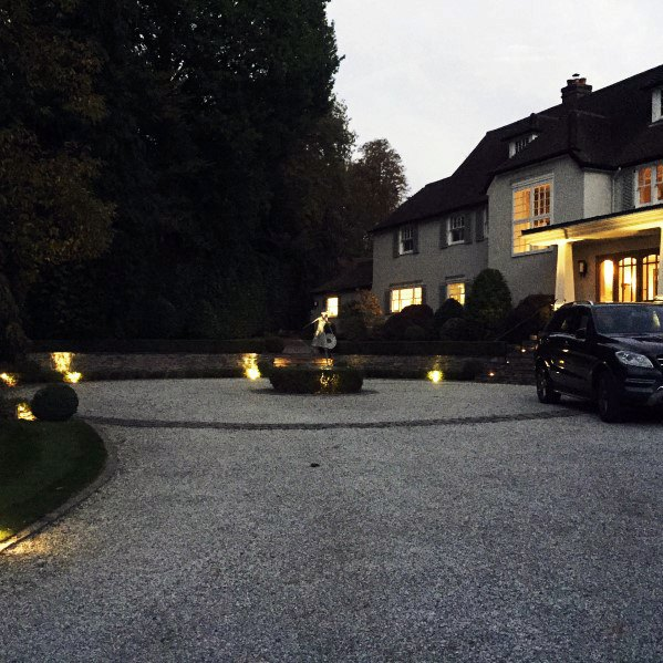 Top 40 Best Driveway Lighting Ideas – Landscaping Designs