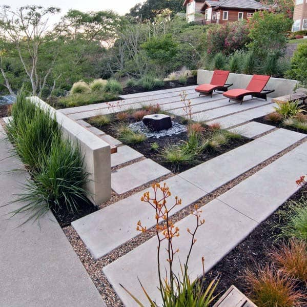 Small Home Garden Ideas Sample: Top 60 Best Gravel Landscaping Ideas