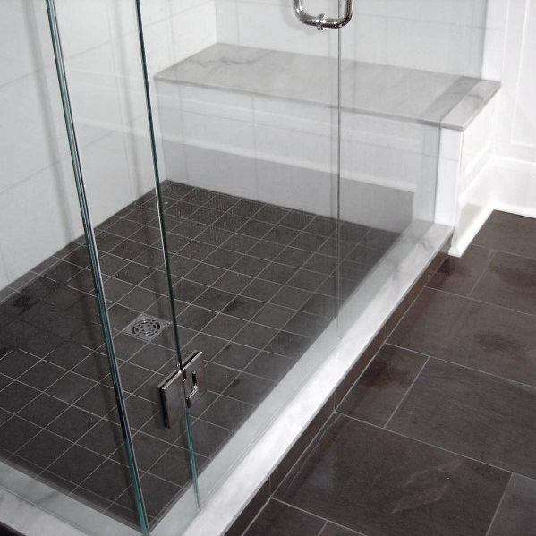 Awesome Grey Bathroom Tile Ideas Slate