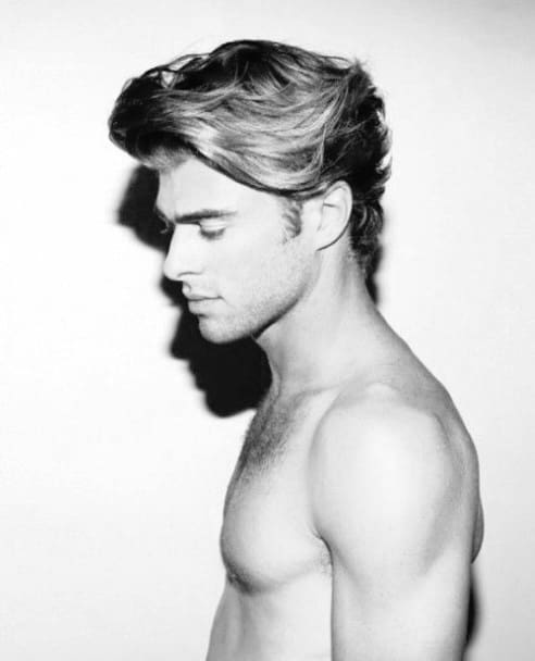 Awesome Hair Styles For Medium Hair Men
