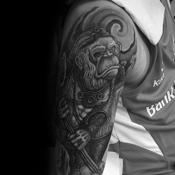 60 Hanuman Tattoo Designs For Men - Hinduism Ink Ideas