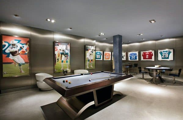 Awesome Home Basement Design Man Cave