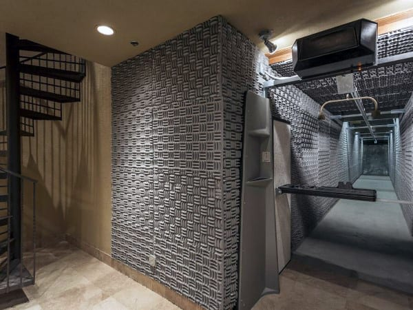 Awesome Home Basement Indoor Shooting Range