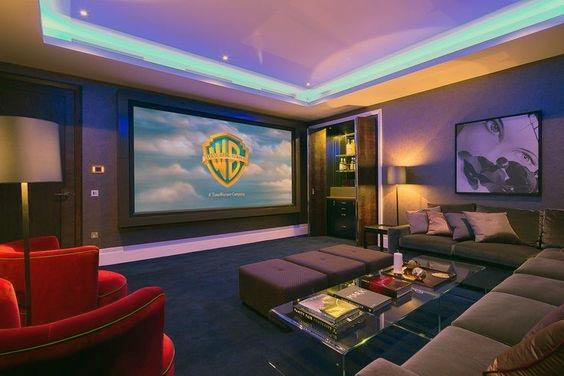 Awesome Home Theater Lighting Ideas