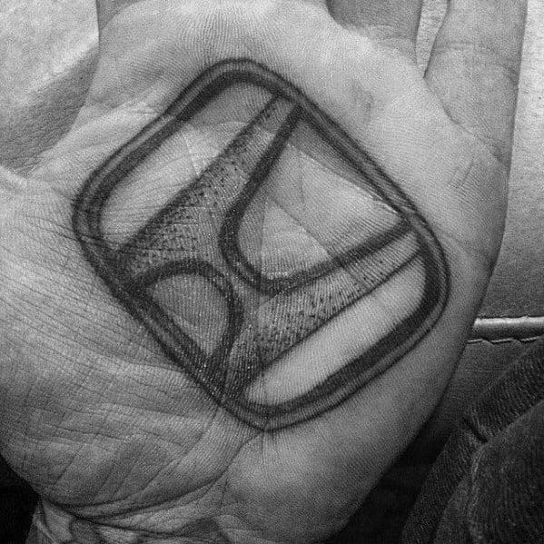 Awesome Honda Tattoos For Men