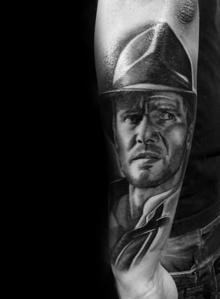 Awesome Indiana Jones Tattoos For Men